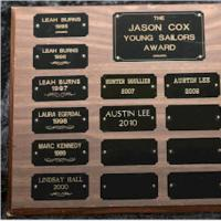 Jason Cox Youth Award
