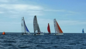 Mark Rounding at Caseville